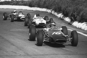 Jochen Rindt, Brabham BT10-Cosworth, Tony Hegbourne, Cooper T71-Cosworth, Alan Rees, Brabham BT10-Cosworth