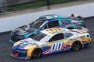 Quin Houff, StarCom Racing, Chevrolet Camaro Mane 'n Tail, Garrett Smithley, Rick Ware Racing, Chevrolet Camaro