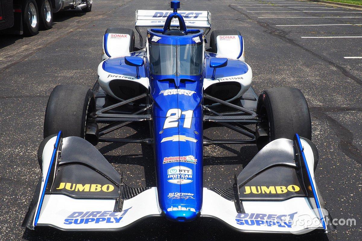 Rinus Van Kalmthout, Ed Carpenter Racing Chevrolet