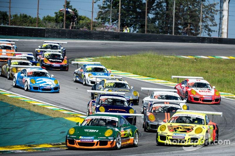 Largada da GT3 Cup - Porsche