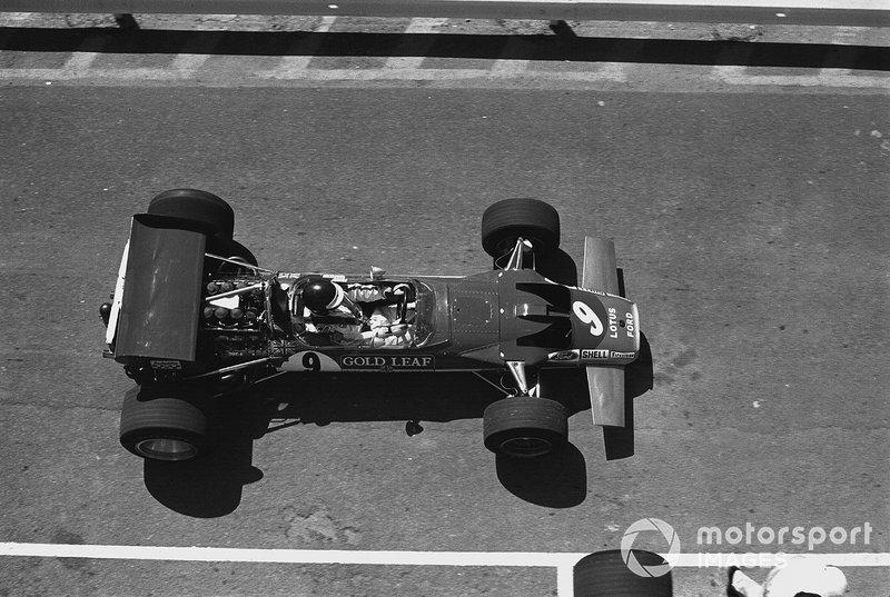 Jochen Rindt, Lotus 49C-Ford, GP del Sud Africa del 1970