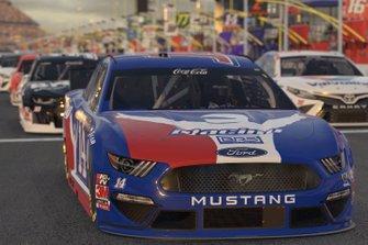 NASCAR cars lineup