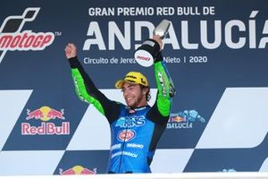Race winner Enea Bastianini, Italtrans Racing Team