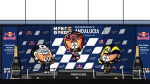 El podio del GP de Andalucía 2020, por MiniBikers