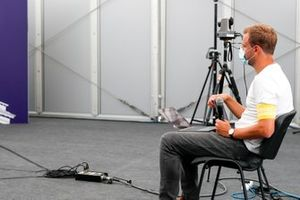 TV Commentator Jack Nicholls