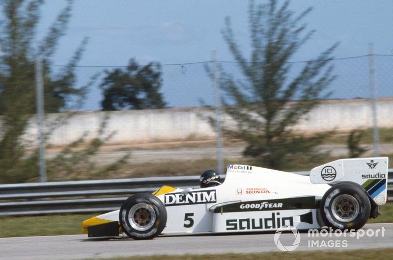 Jacques Laffite, Williams FW09 Honda