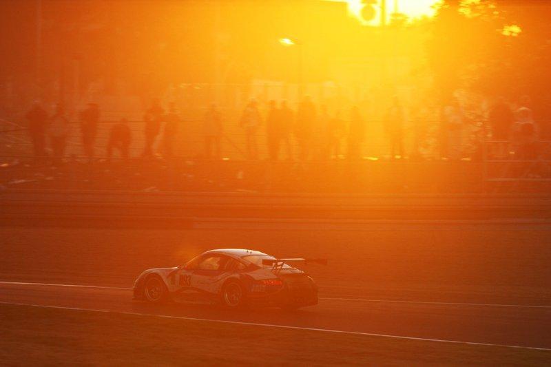 Le Mans 2007: #93 Porsche 997 GT3 RSR: Allan Simonsen, Lars Erik Nielsen, Pierre Ehret