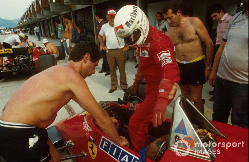 Rene Arnoux, Ferrari126 C4