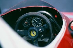 Cockpit of Ferrari 312T