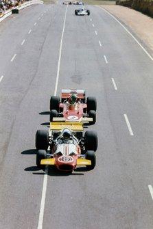 Dave Charlton, Brabham BT33 Ford, Reine Wisell, Lotus 72C Ford