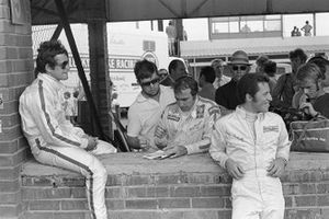 Jacky Ickx, Ferrari, Clay Regazzoni, Ferrari, Mario Andretti, Ferrari