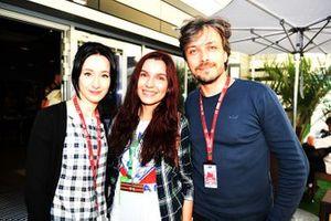 Natalia Fabrichnova, Luba and Alexey Popov