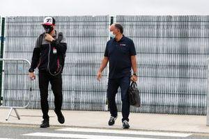 Кими Райкконен и руководитель Alfa Romeo Racing Фредерик Вассер