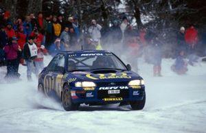 Colin McRae, Luis Moya, Subaru Impreza