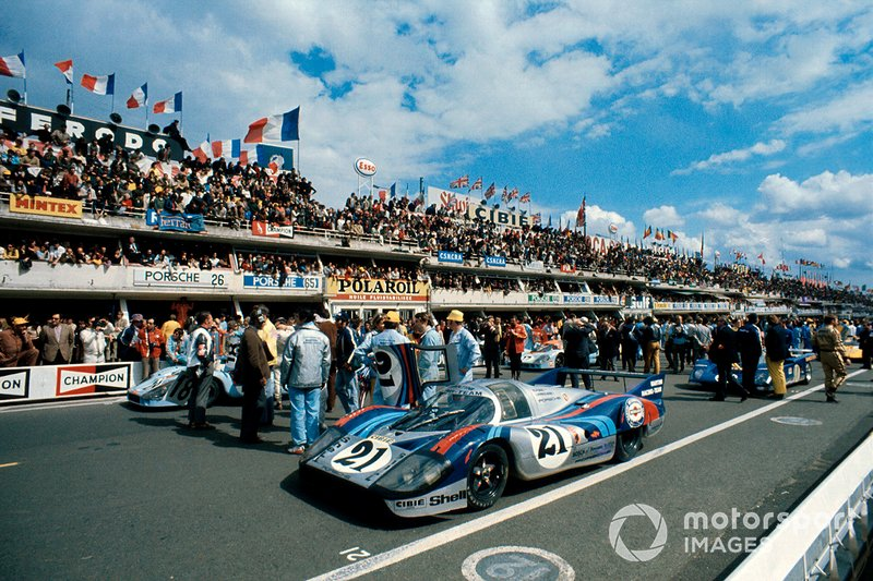 Gerard Larrousse, Vic Elford, Martini Racing Porsche 917 LH