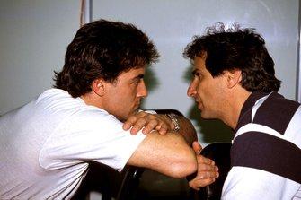 Jean Alesi, Ferrari con Nelson Piquet