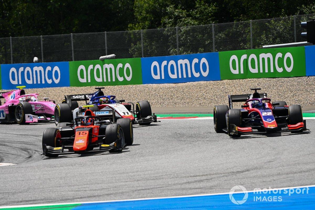 Felipe Drugovich, MP Motorsport y Roy Nissany, Trident