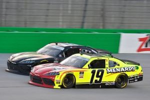 Brandon Jones, Joe Gibbs Racing, Toyota Supra Menards/Atlas, Riley Herbst, Joe Gibbs Racing, Toyota Supra Monster Energy