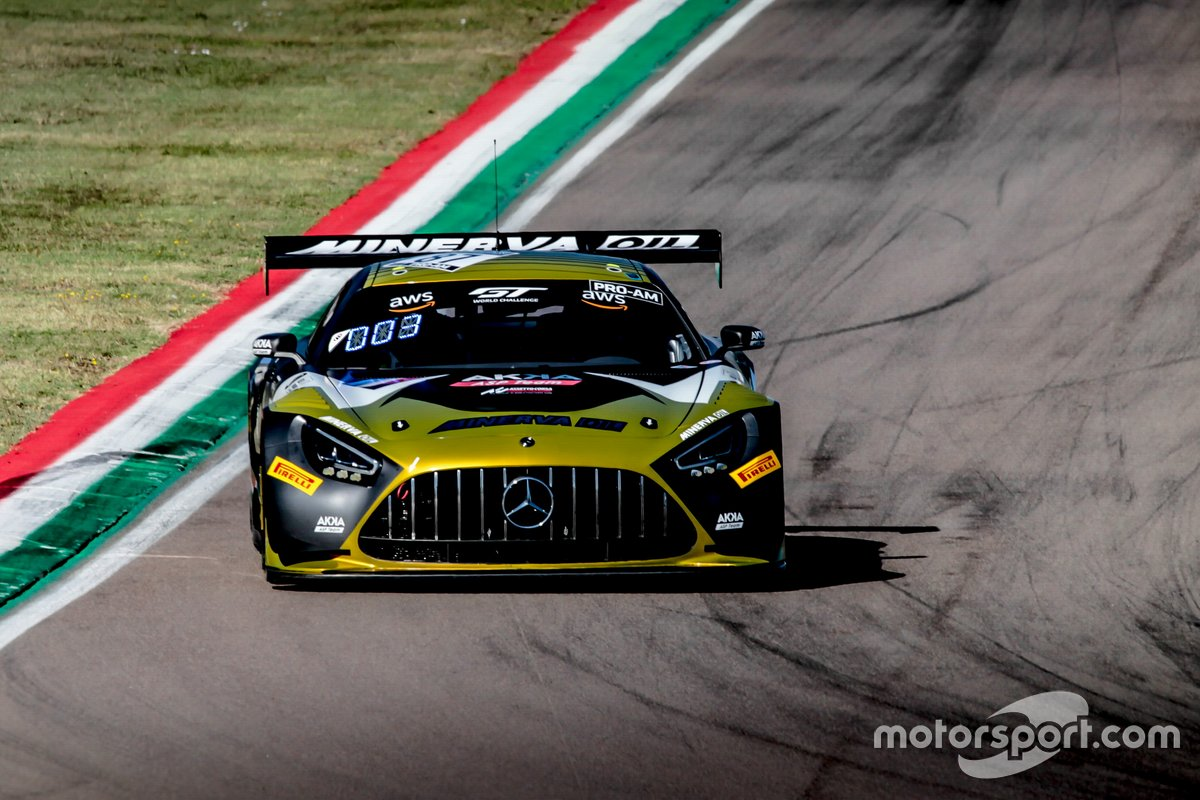 #87 AKKA ASP Mercedes-AMG GT3: Jean-Luc Beaubelique, Fabien Barthez, Jim Pla