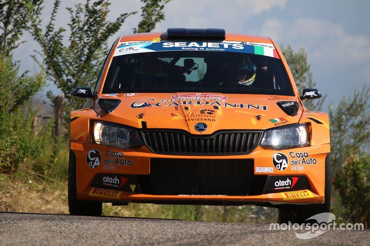 Giacomo Scattolon, Matteo Nobili, CR Motorsport, CR Motorsport, Skoda Fabia R5