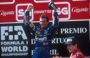 Riccardo Patrese, Williams, Ayrton Senna, McLaren, GP del Portogallo del 1991