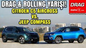 Drag: Citroën C5 Aircross vs Jeep Compass