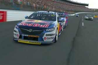 Race 1 winner Shane van Gisbergen, Triple Eight Race Engineering