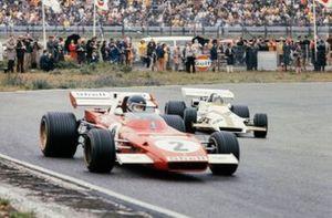 Jacky Ickx, Ferrari 312B2, Pedro Rodriguez, BRM P160