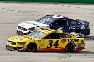Michael McDowell, Front Row Motorsports, Ford Mustang Love's Travel Stops, Ryan Newman, Roush Fenway Racing, Ford Mustang