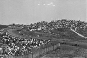 Renn-Action beim GP Niederlande 1970 in Zandvoort