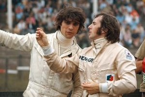 Tyrrell teammates Francois Cevert and Jackie Stewart, March 701 Ford