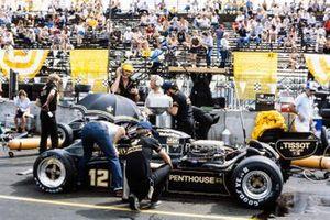 Nigel Mansell, Lotus 91 Ford, Colin Chapman, Steve Hallam