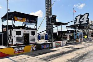 Boxenplatz: Clint Bowyer, Stewart-Haas Racing