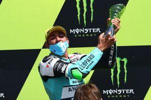 Il vincitore della gara Dennis Foggia, Leopard Racing