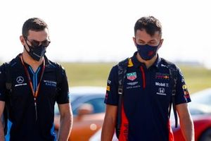 Nicholas Latifi, Williams Racing, Alex Albon, Red Bull Racing