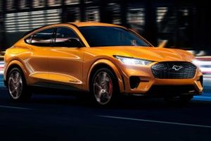 2021 Ford Mustang Mach-E GT Cyber Orange