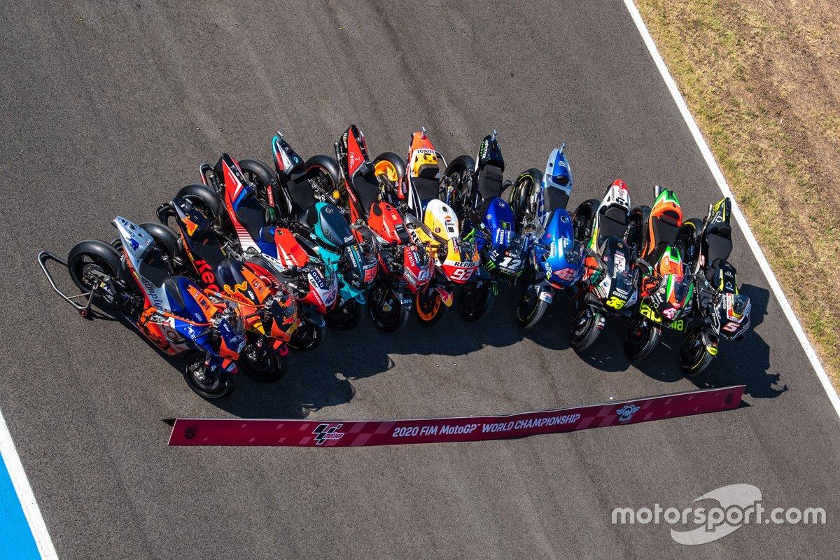 Мотоциклы команд MotoGP