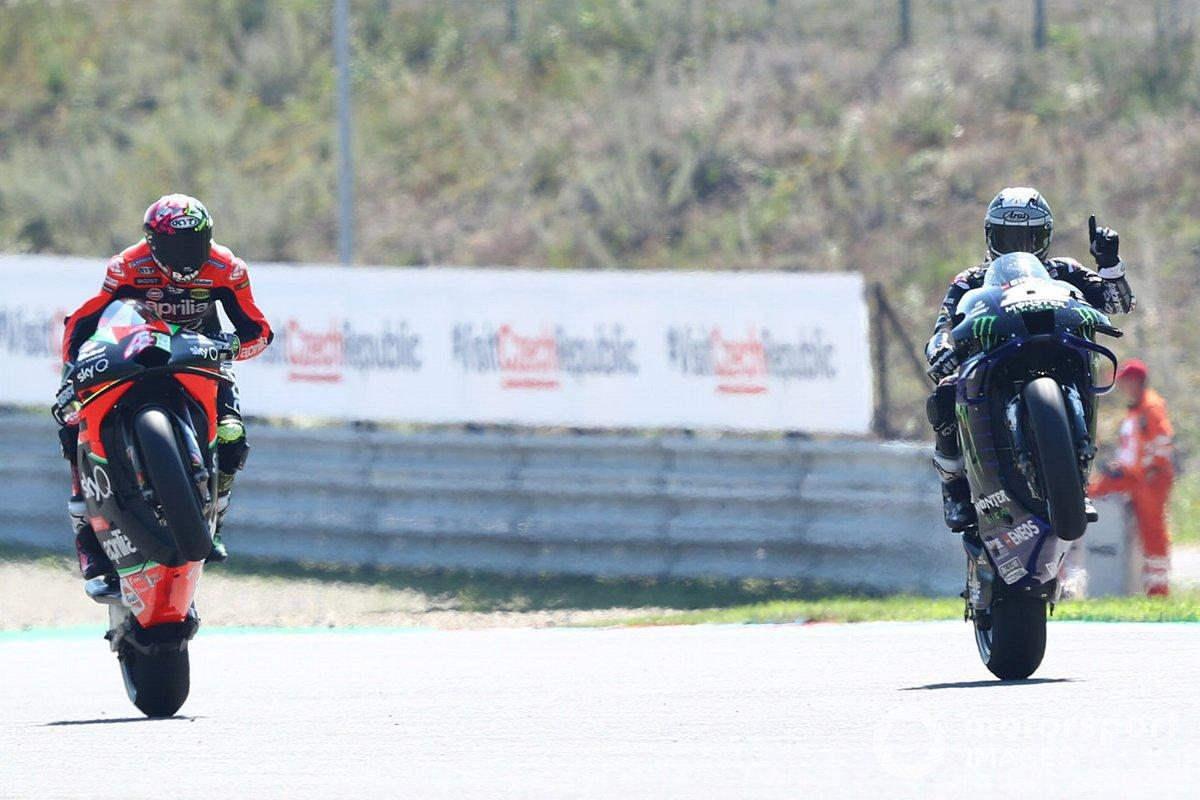 Aleix Espargaró, Aprilia Racing Team Gresini, Maverick Viñales, Yamaha Factory Racing