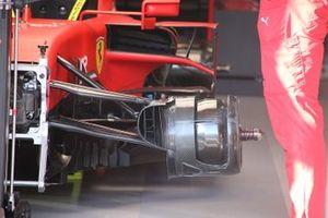 Dettaglio dell'anteriore Ferrari SF1000