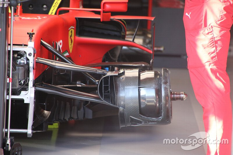 Detalle frontal del Ferrari SF1000