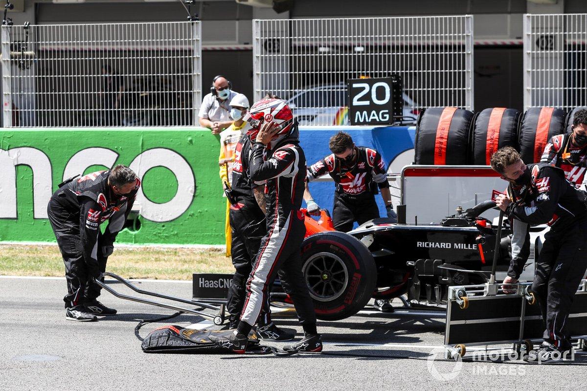 Kevin Magnussen, Haas F1 sulla griglia di partenza