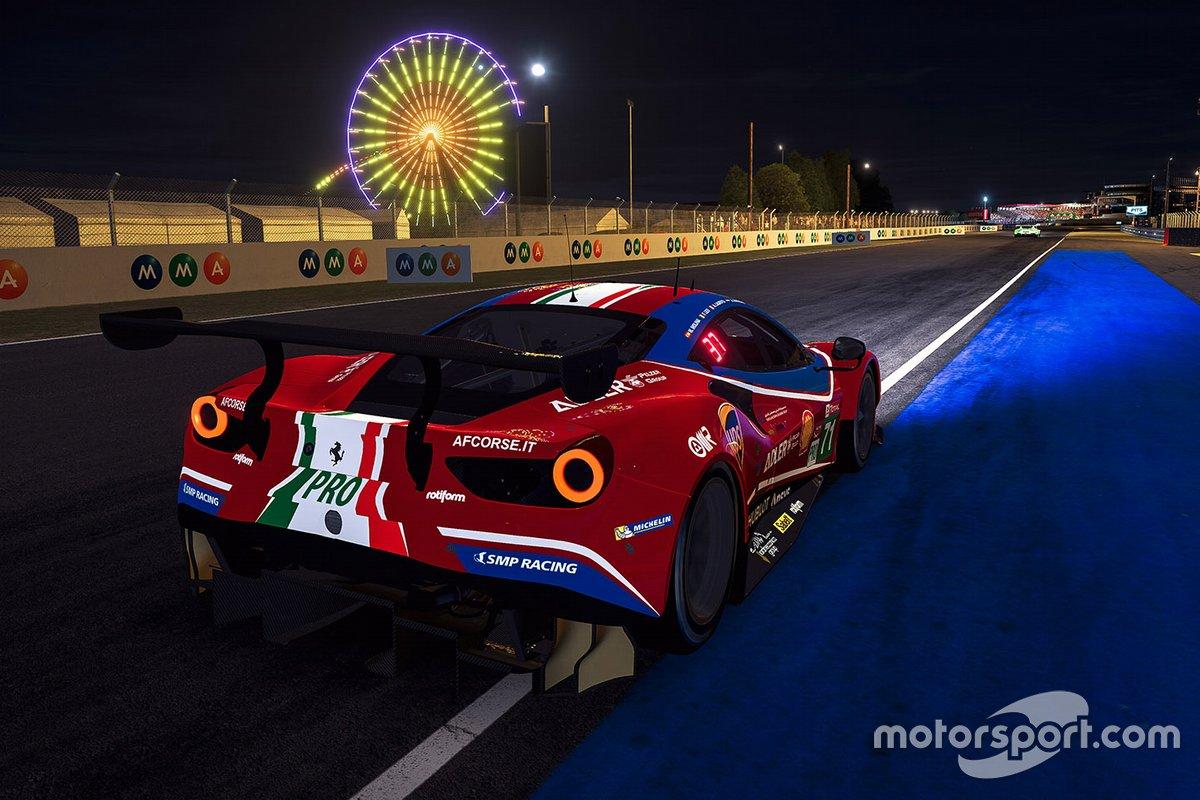 #71 Ferrari - AF Corse Ferrari 488 GTE: Miguel Molina, David Perel, Danilo Santoro, Jordy Zwiers