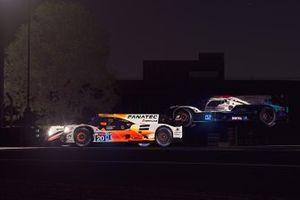 #20 Team Redline Oreca 07 LMP2: Max Verstappen, Lando Norris, Atze Kerkhof, Greger Huttu, #13 Rebellion Williams Esport Oreca 07 LMP2: Agustin Canapino, Jack Aitken, Alex Arana, Michael Romanidis