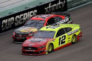 Ryan Blaney, Team Penske, Ford, Martin Truex Jr., Joe Gibbs Racing Toyota