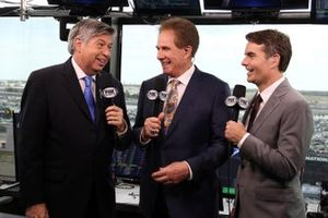 Mike Joy, Darrell Waltrip, Jeff Gordon