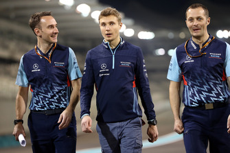 Sergey Sirotkin, Williams Racing walks the track