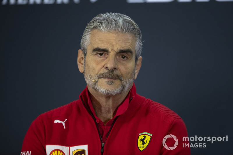 Maurizio Arrivabene, Ferrari Team Principal in Press Conference