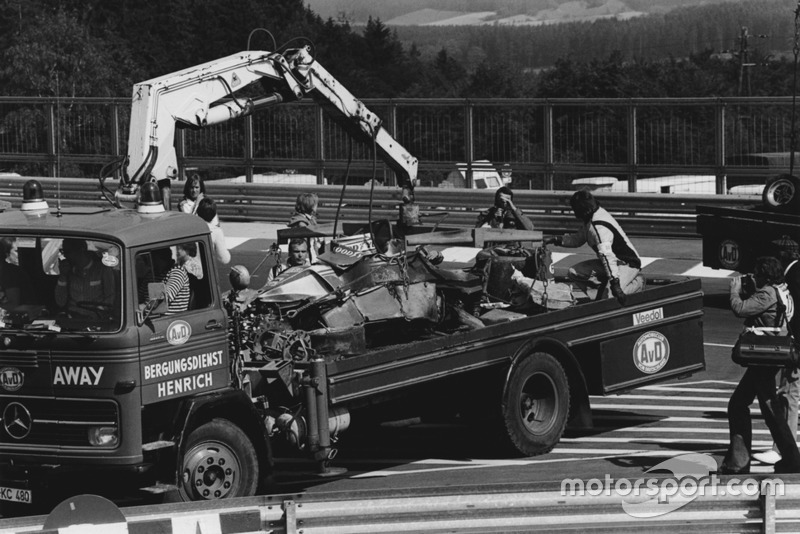 Accidente de Niki Lauda, Ferrari 312T2