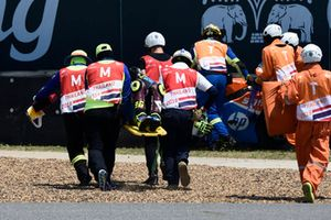 Crash of Joan Mir, Marc VDS