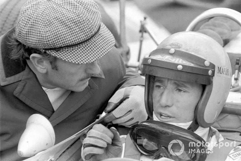 Colin Chapman, Lotus Team y Mario Andretti, Lotus